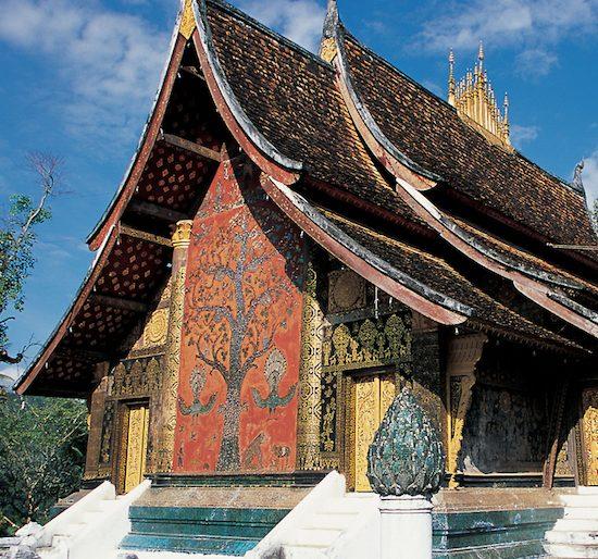 6 Luang Prabang - Wat Xieng Thong, Laos