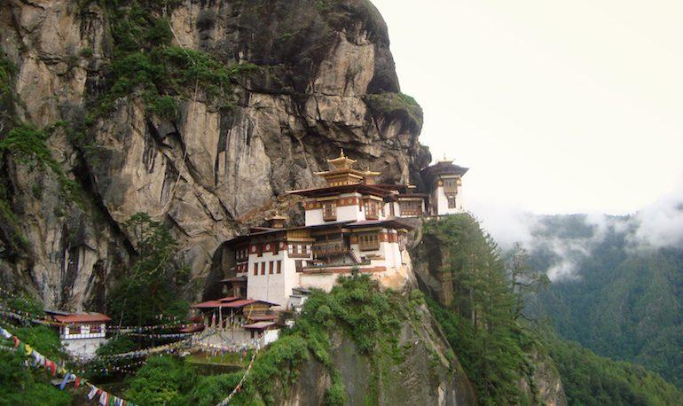 7 Paro Taktsang Monastery, Bhutan