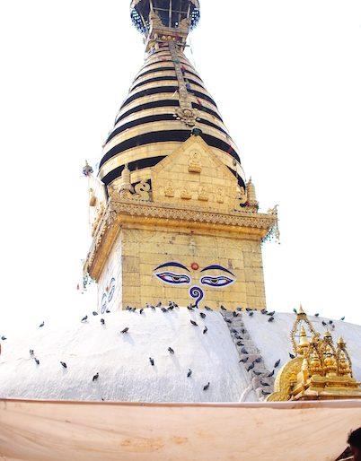 8 Swayambhunath stupa, Nepal