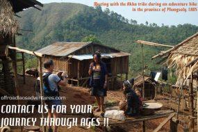 Hiking amongst Laos tribal villages