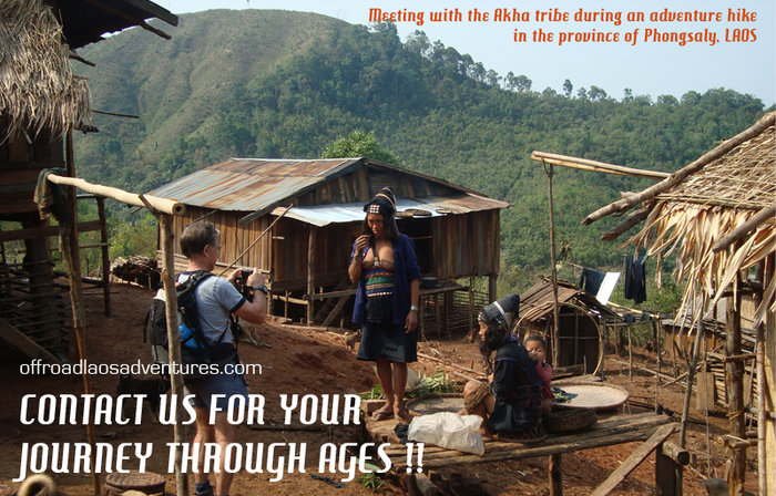 Hiking amongst Laos tribal villages