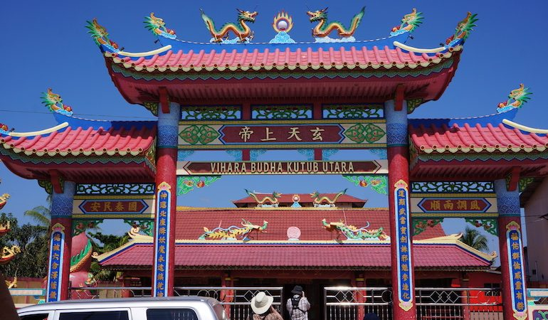 Buddhist Chinese temple at Pontianak