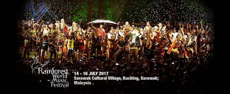 Rainforest World Music Festival 2017