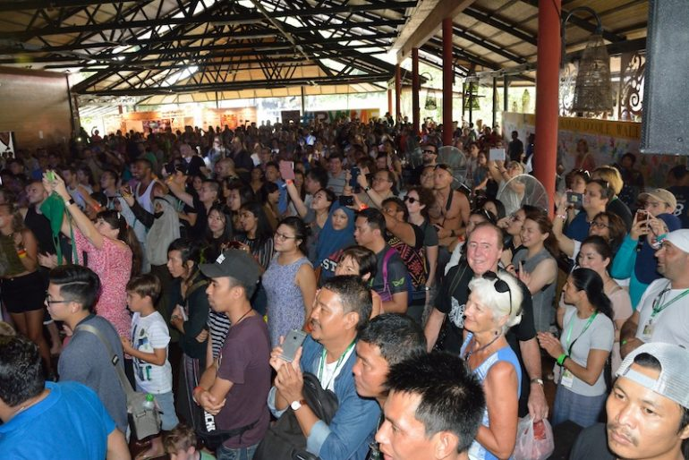 Day sessions at Rainforest World Music Festival