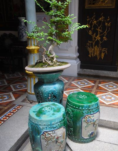 Green features at Peranakan Mansion