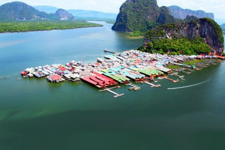 Koh Panji from the air