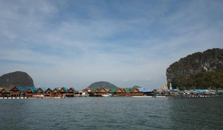 Koh Panji at the distance