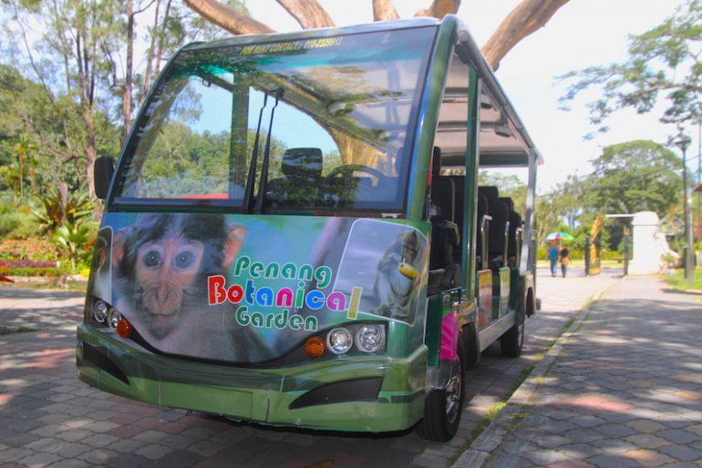 The shuttle bus