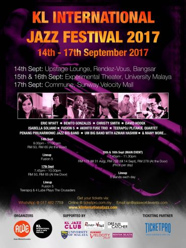 Kuala Lumpur International Jazz Festival 2017