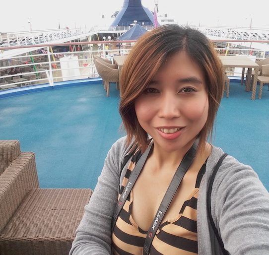 Selfie at Cruise
