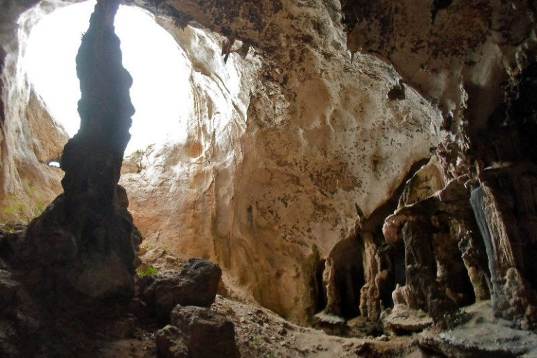 Caves in Khao Khanap Nam