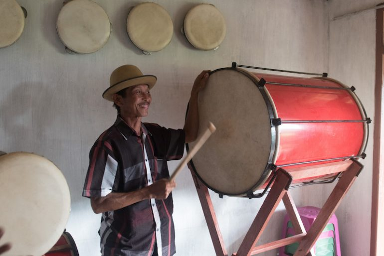 Osing drummer