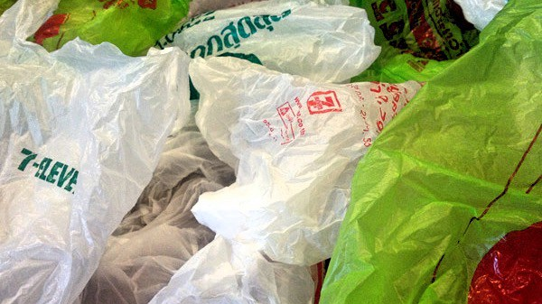 Thailand is filled with plastic bags