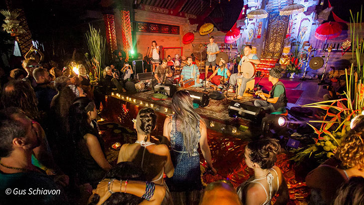 Music nights at BaliSpirit Festival
