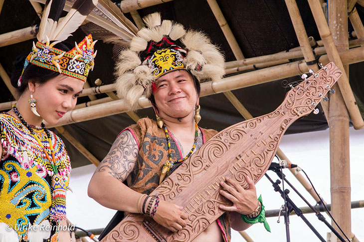Sape from Borneo at BaliSpirit Festival