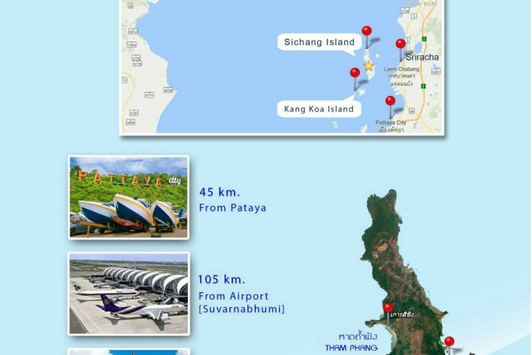 Koh SIchang small map