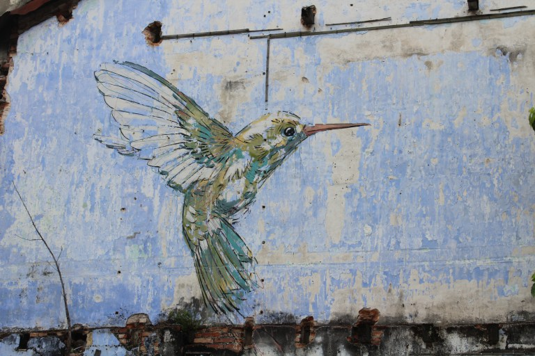 Ernest Zacharevic - Hummingbird