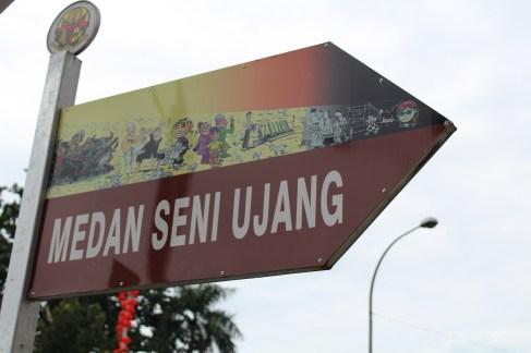 Street Art @ Medan Seni Ujang