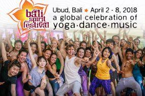BaliSpirit Festival 2018 is soon!