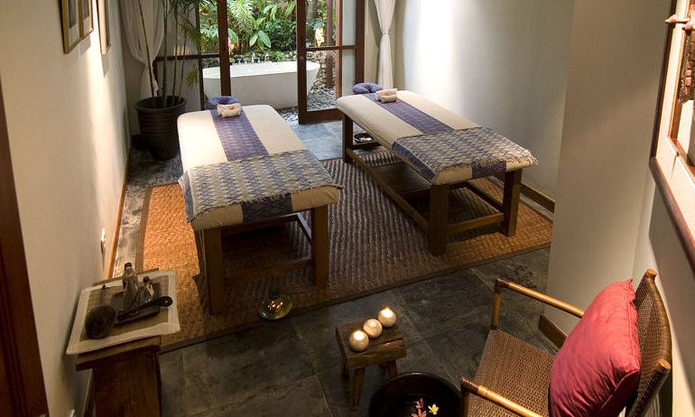The Longhouse spa area
