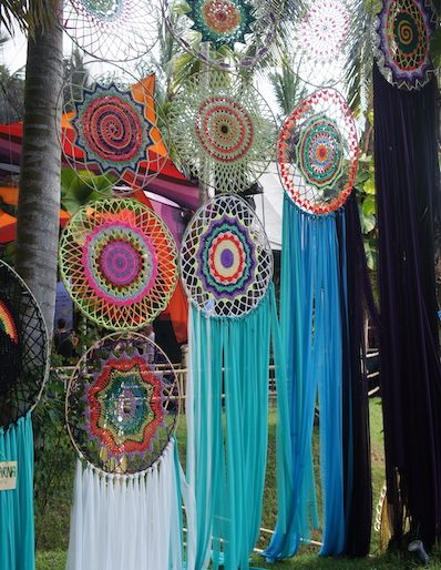 Artistic dreamcatchers