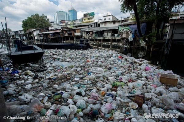 Bangkok plastic waste problem
