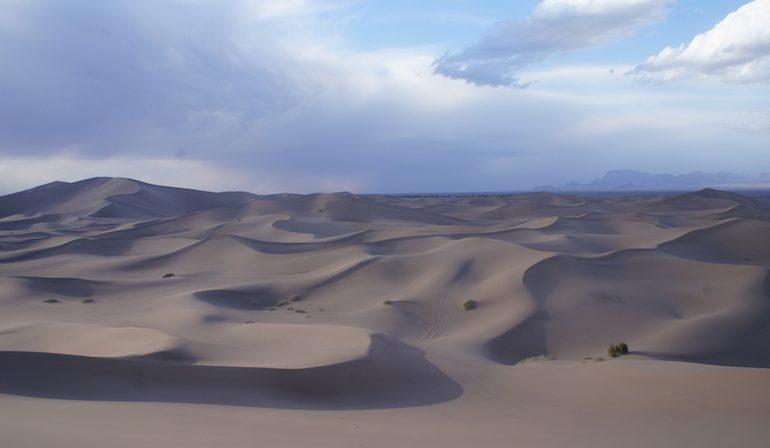 Vaste espanse of the Iran desert