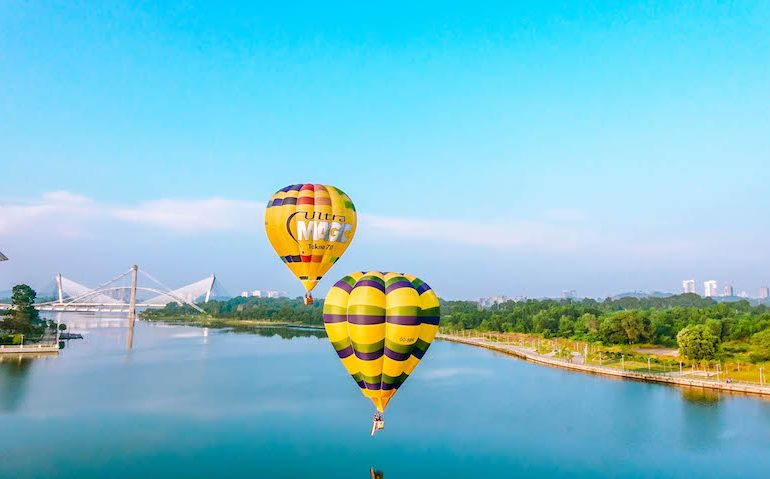 20 balloons will colour the skies of Putrajaya from 28 - 31 March