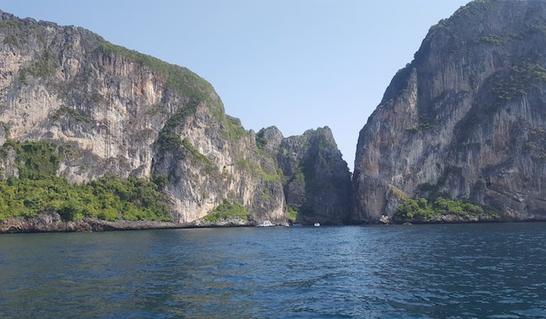 The karst mountains Krabi is famous for