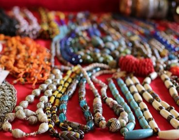Beads at Rainforest World Music Festival