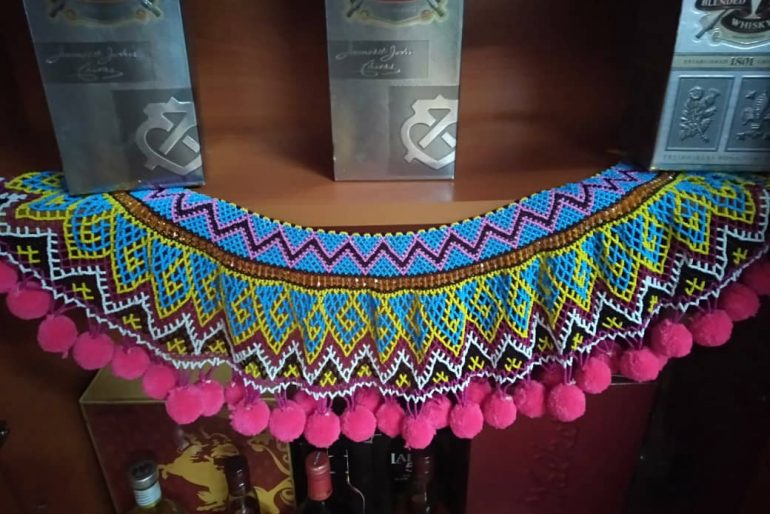 Tango: Iban lady shawl