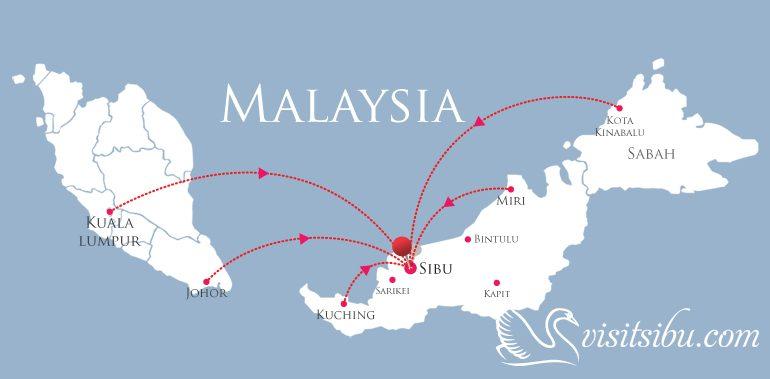 Sibu Map