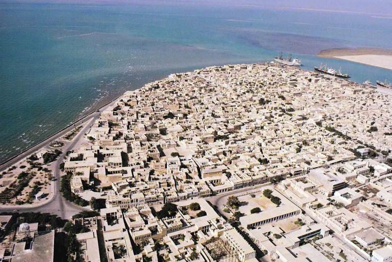 Bushehr aerial view