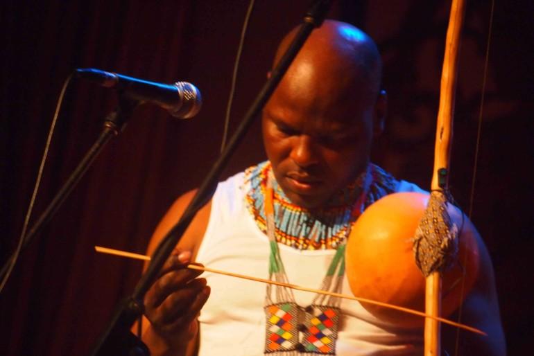 Dizy Plaatjies, leader of Ibuyambo Ensemble