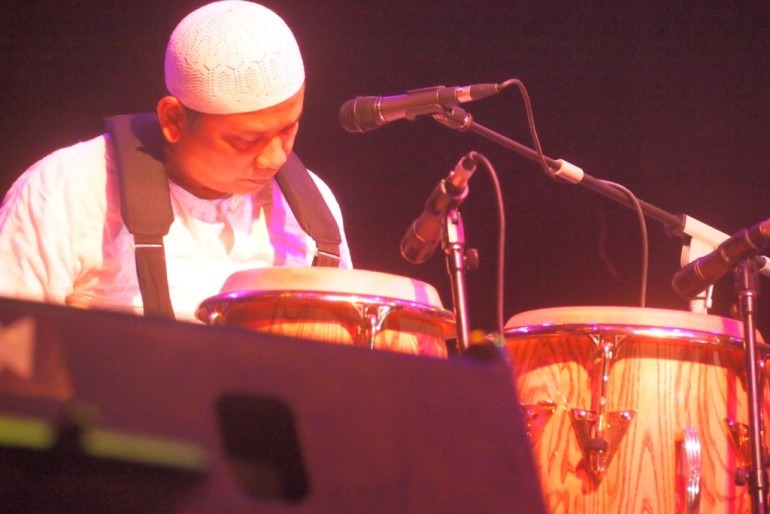 Percussionist Jalu