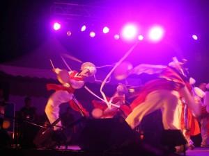 Rainforest Festival, Korean dancer