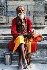Baba a Kathmandu