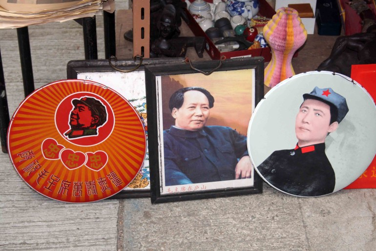 Memories of President Mao in Hong Kong