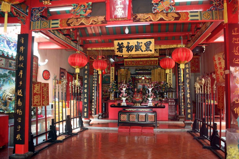 A chinese temple in Penang