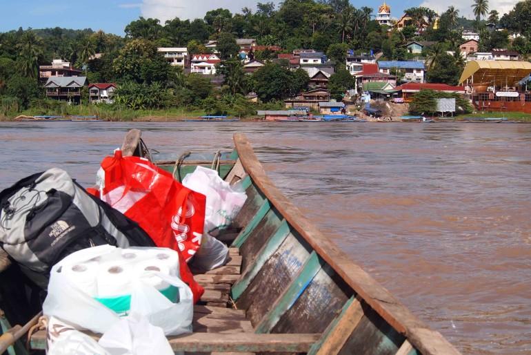 La costa Laotiana si avvicina