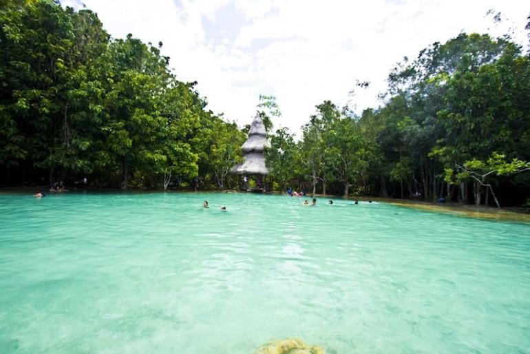 Main pool at Sa Morakot