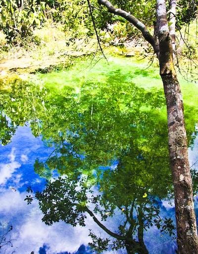 Reflection at Sa Morakot