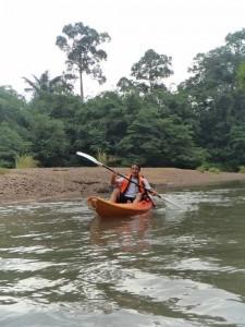 I paddle and paddle