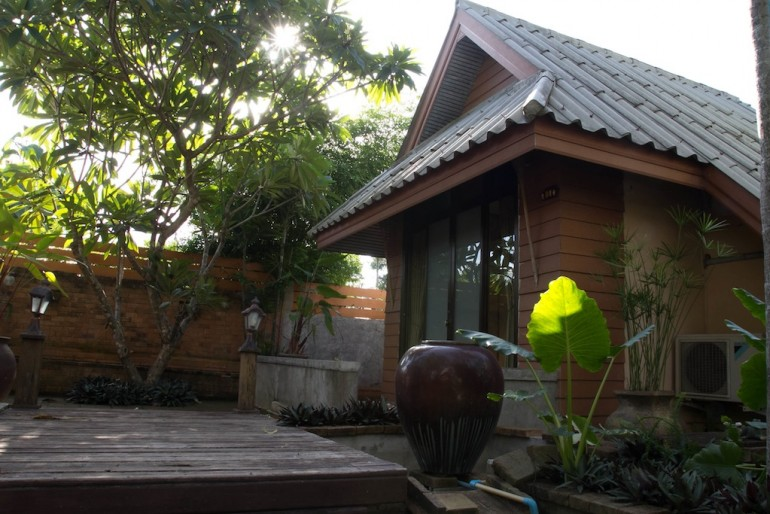 The bungalow at Pai Vintage Gardens
