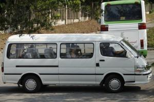 James 14 seater minivan