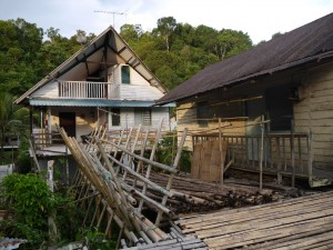 One of the homestays