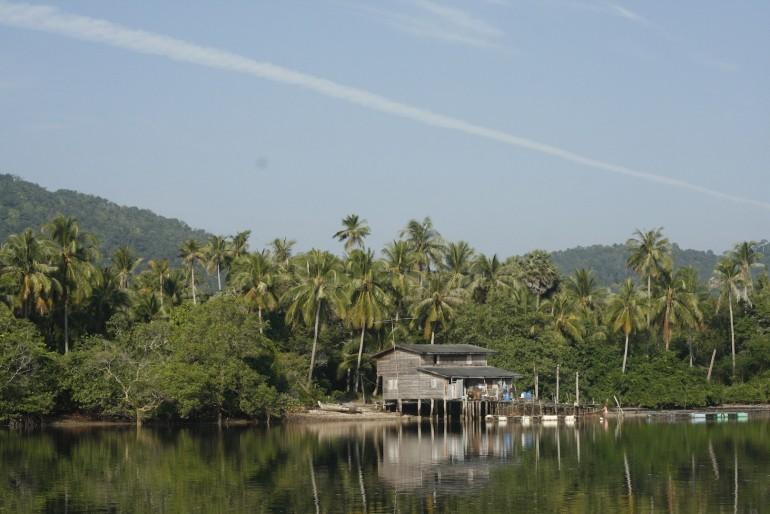 View of Koh Lanta east coast