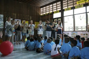 Visit at Klong Prasong School