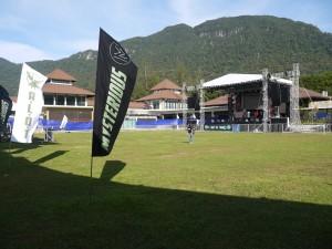 The venue at Santubong