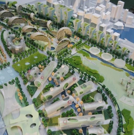 Singapore futuristic city planning